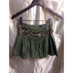 Belly Dancer Skirt by Heart Moon Star - Green with